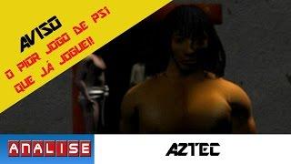 Flagamer S05E05 - CONHEÇA Aztec, jogo de civilização asteca point and click do ps1