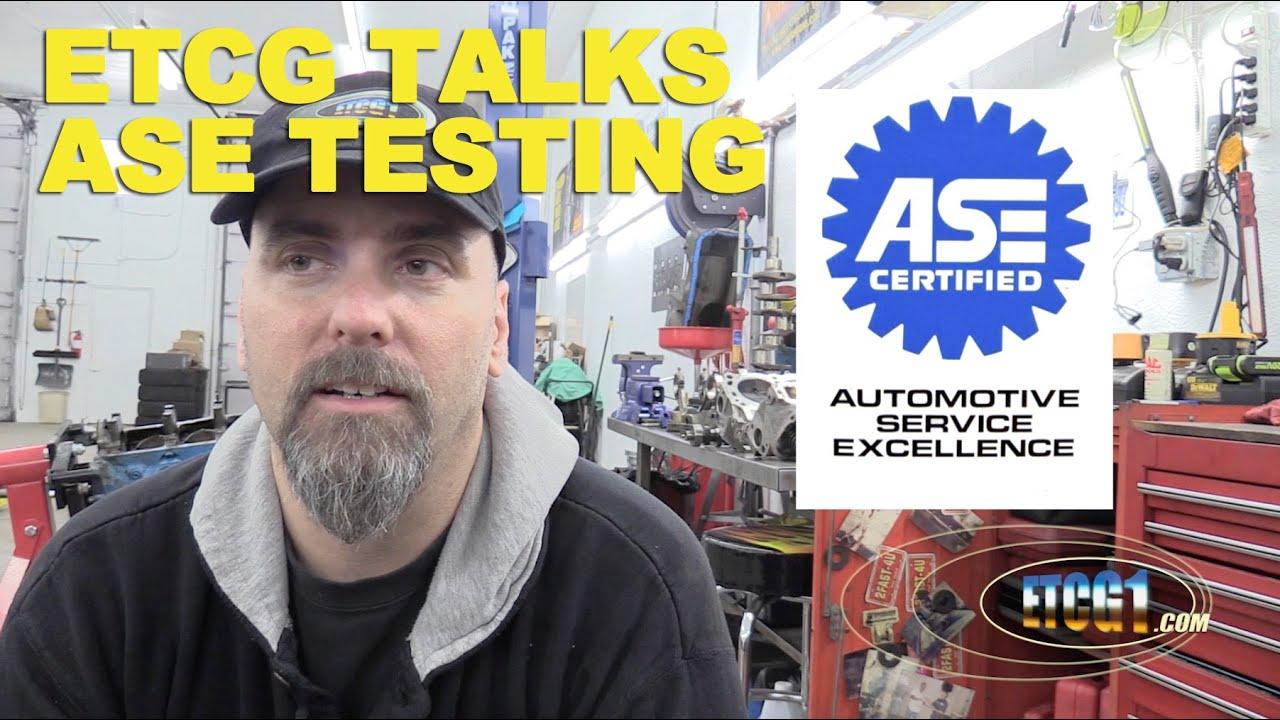 Etcg Talks Ase Testing Etcg1 Youtube