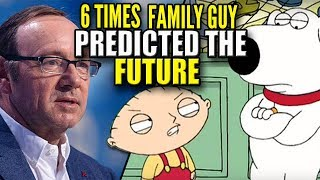 Video 6 Times Family Guy Predicted The Future download MP3, 3GP, MP4, WEBM, AVI, FLV Agustus 2018