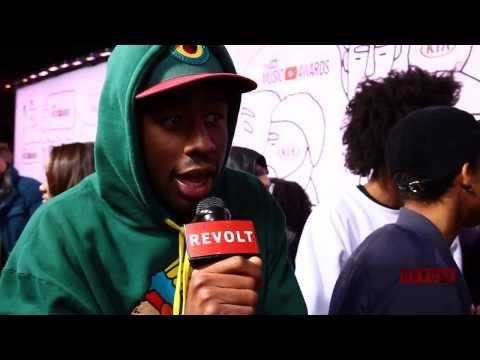 Tyler, the Creator Disses YouTube Music Awards On Red Carpet