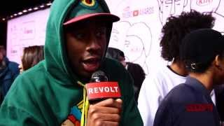Tyler, the Creator Disses YouTube Music Awards On Red Carpet