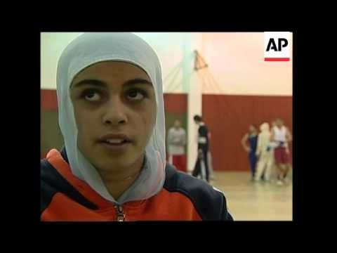 Female boxers in traditional Islamic town ruffle some feathers
