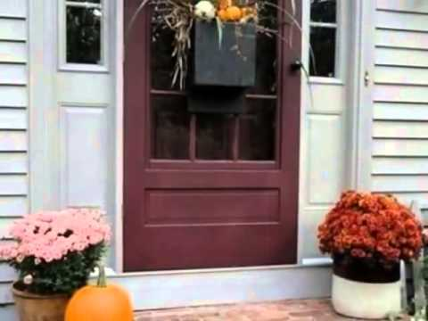 Inviting Fall Front Door Décor Ideas 480p
