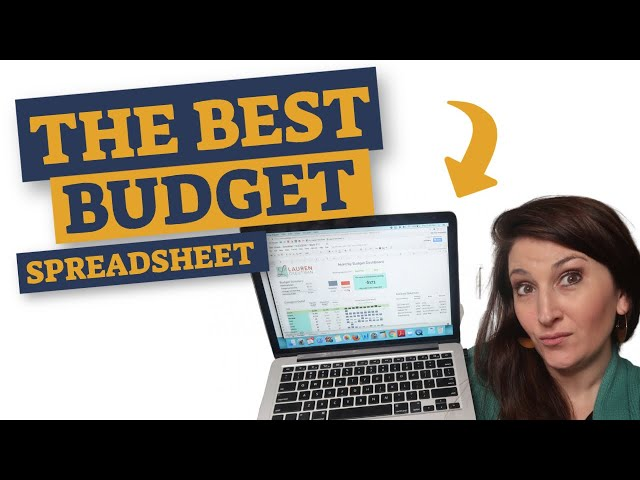 Monthly Budget Spreadsheet - How to use one to set a monthly budget!