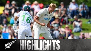 Jamieson stars with opening day FIVE wicket haul | 2nd Test Day 1 HIGHLIGHTS | BLACKCAPS v Pakistan