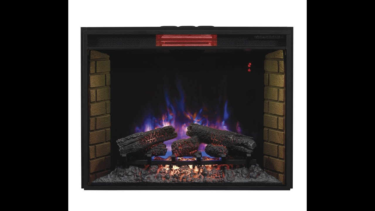 Classic Flame Infrared Electric Fireplace Insert Review Model