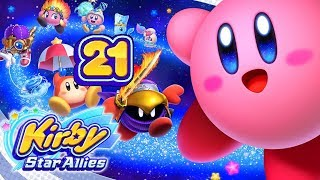 Let's Play Kirby Star Allies (Part 21): Mit Dora, wolkige Freiheit - Level 5!