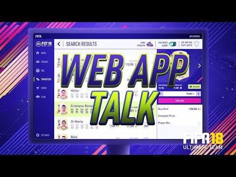 FIFA 18 - Web App & EA Access Tips/Investments