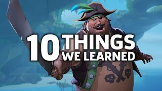 10 Things We Learned About Sea Of Thieves From The Beta