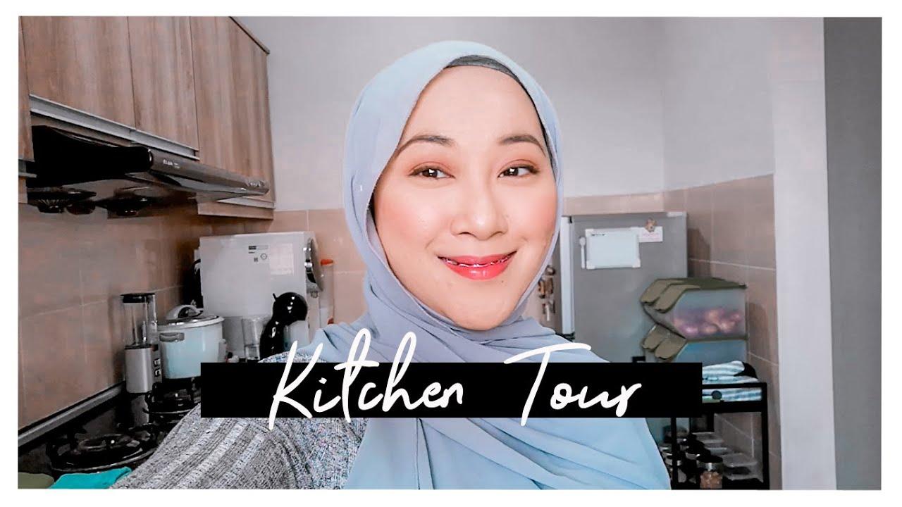 Kitchen Tour! Jom Tengok Kitchen I  | Aisha Mohd