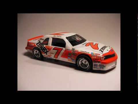 Alan Kulwicki 7 Zerex Ford 1987 Youtube