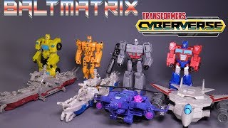 TRANSFORM!!! Transformers Cyberverse Spark Armor Elite Class Wave 1 Figures