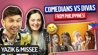 Download YAZIK & Voice Student react to Comedian Singers vs ASAP Divas