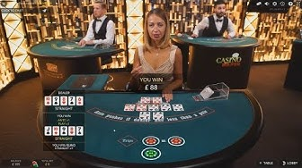 First Time Playing Live Dealer Ultimate Texas Holdem