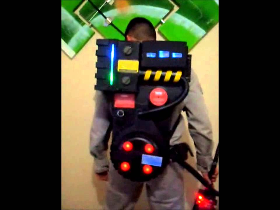 Mochila Ca 231 A Fantasma Ghostbusters Proton Pack Youtube