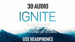 Ignite - Alan Walker 3D Audio | Use Headphones | Mixhound 3D Studio