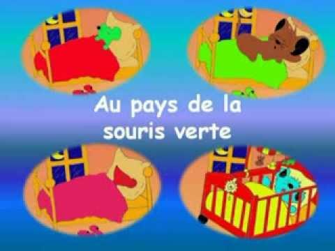 Une souris verte au pays de la souris verte youtube - L histoire de la souris ...