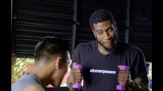 Iman Shumpert Training Like A Boxing Champion |  DAZN Challenges Him To Canelo Alvarez' Routine