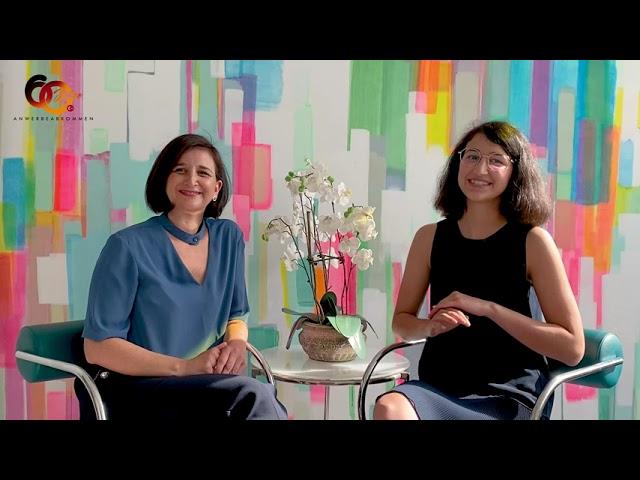 Prof. Dr. Neşe Sevsay-Tegethoff u. Selin Leyla Tegethoff sprechen mit Dr. Elif D. Cındık-Herbrüggen