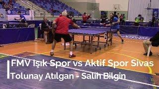 Tolunay ATILGAN 0 (FMV Işık Spor) - Salih BİLGİN 3 (Aktif Spor Sivas)