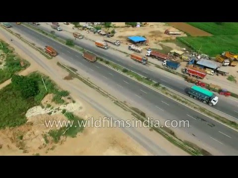 NH8 Freight corridor of north India: trucking not trains major transport means