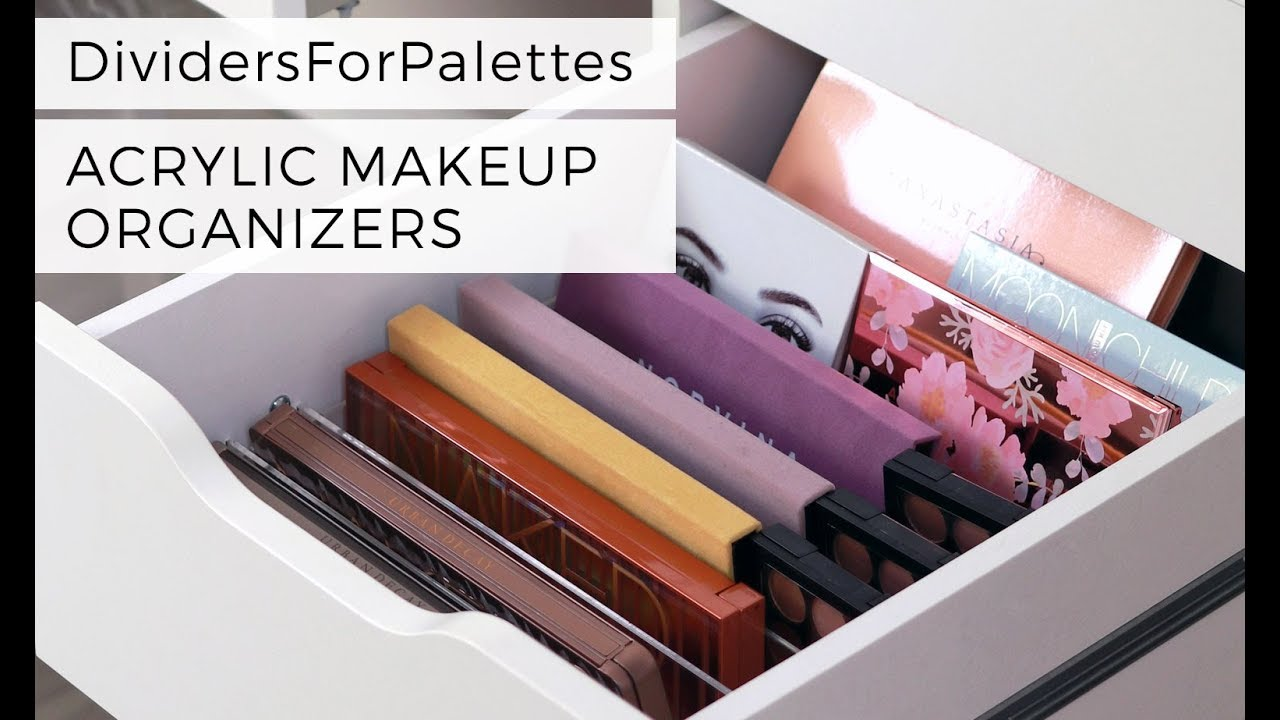 How to , Dividers For Palettes , Makeup Organizers for IKEA ALEX