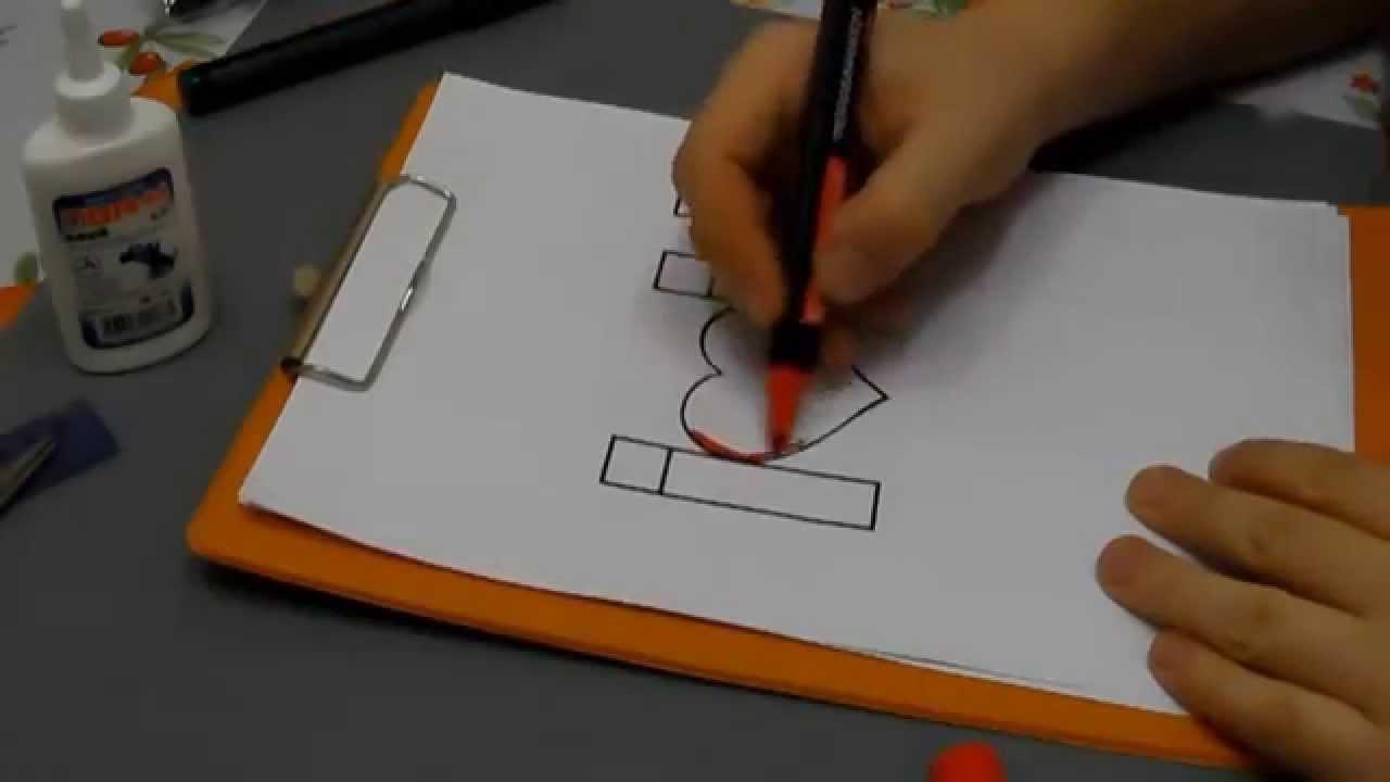 Как сделать 3d открытку своими руками
