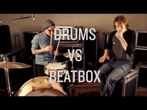 DRUMS vs BEATBOX - Eliel Viitala & Felix Zenger