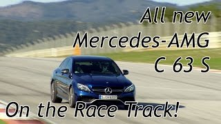 2015 Mercedes-AMG C63 / C63S - Fahrbericht, Drifts & Rennstrecke