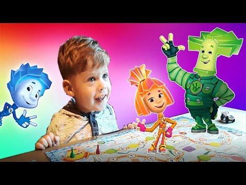 Фиксики Настольная игра Азбука Учим буквы Развивающие игры дома