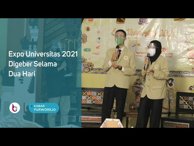 Expo Universitas 2021 Digeber Selama Dua Hari