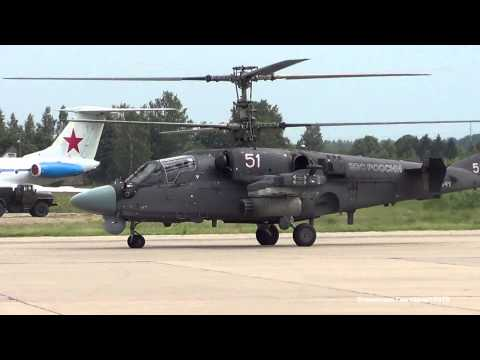 КА-52 и МИ-28Н