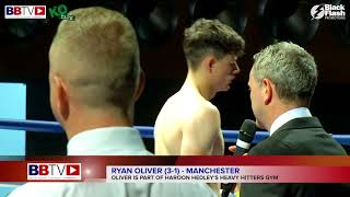 RYAN OLIVER VS MJ HALL - FULL FIGHT AND INTERVIEW - BBTV