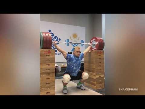 Ilya Ilyin Training Progress 2018 - 2019