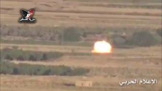 الجيش السوري يدمر بالصورايخ الحرارية آليات للإرهابيين هاربة من الزبداني