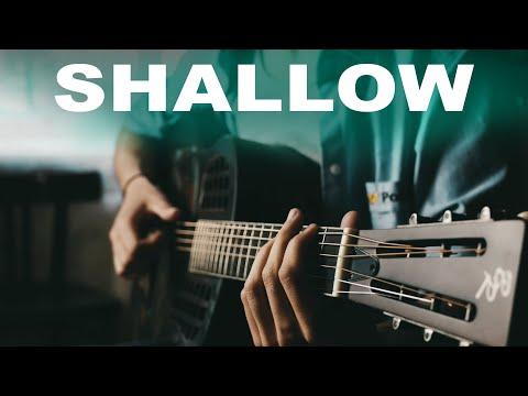 Lady Gaga, Bradley Cooper - Shallow (A Star Is Born)⎪Resonator Guitar Fingerstyle