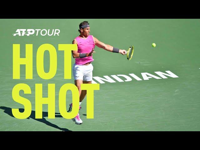 Hot Shot: Nadal Nails Stunning Winner In Indian Wells 2019