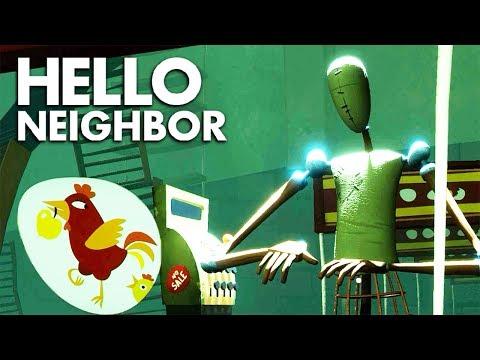 БЕСПОЛЕЗНЫЙ СУПЕРМАРКЕТ ► Hello Neighbor Beta #2