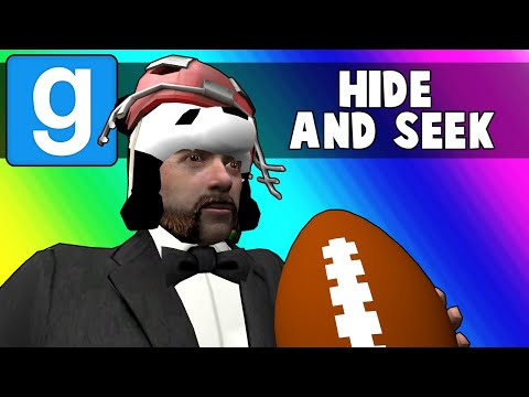 Gmod Hide and Seek Funny Moments - Backyard Superbowl 2018! (Garry's Mod)