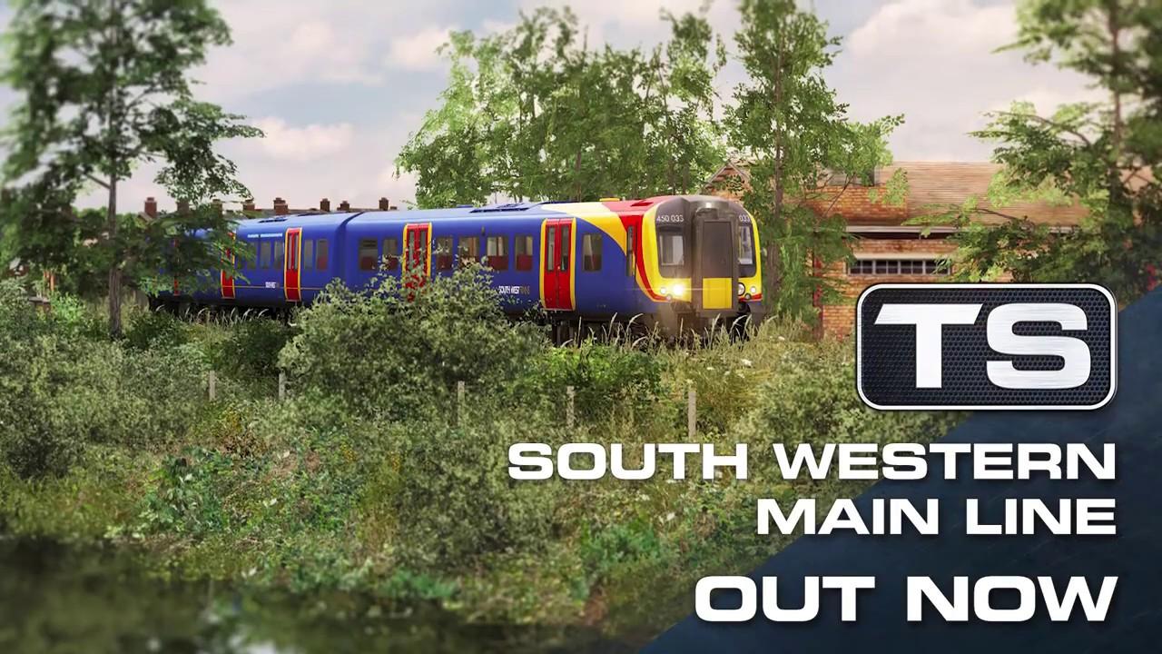 south western main line map Train Simulator 19 South Western Main Line Southampton south western main line map