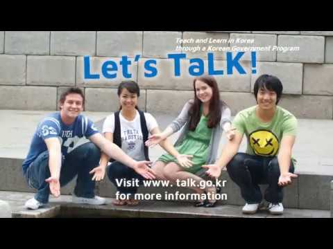 2018 TaLK (Teach and Learn in Korea) Government Scholarship Program
