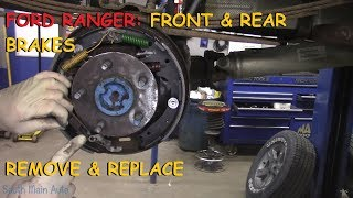 Ford Ranger: Full Brake Job w/ Rear Drum Brakes