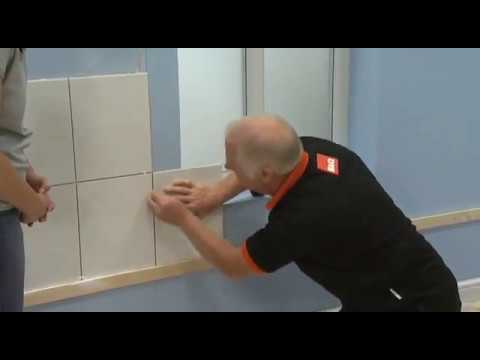 how to install tiles around a window youtube. Black Bedroom Furniture Sets. Home Design Ideas