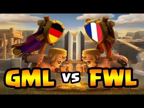 GML gegen FWL | Kampf der Nationen - Deutschland gegen Frankreich