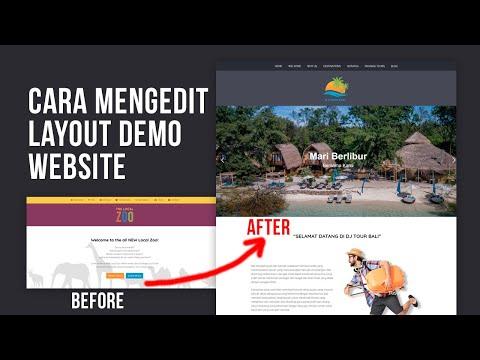 Cara mudah edit website di handphone.