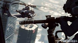 Battlefield 4 OPEN BETA - PC - Skyscraper Gameplay
