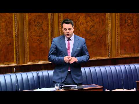 Colum Eastwood MLA - Equal Marriage motion