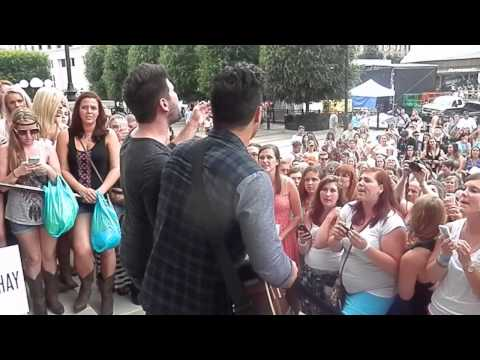 Dan And Shay- Somewhere Only We Know 6/5/14