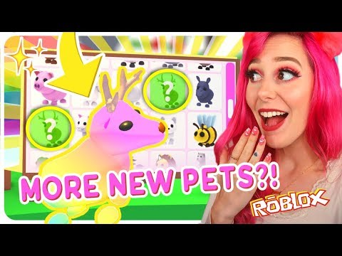 BRAND NEW Christmas Pets Coming To Adopt Me?! Roblox Adopt Me Christmas Update - YouTube