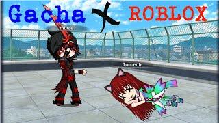 Meurtre de Gacha X Roblox jogo